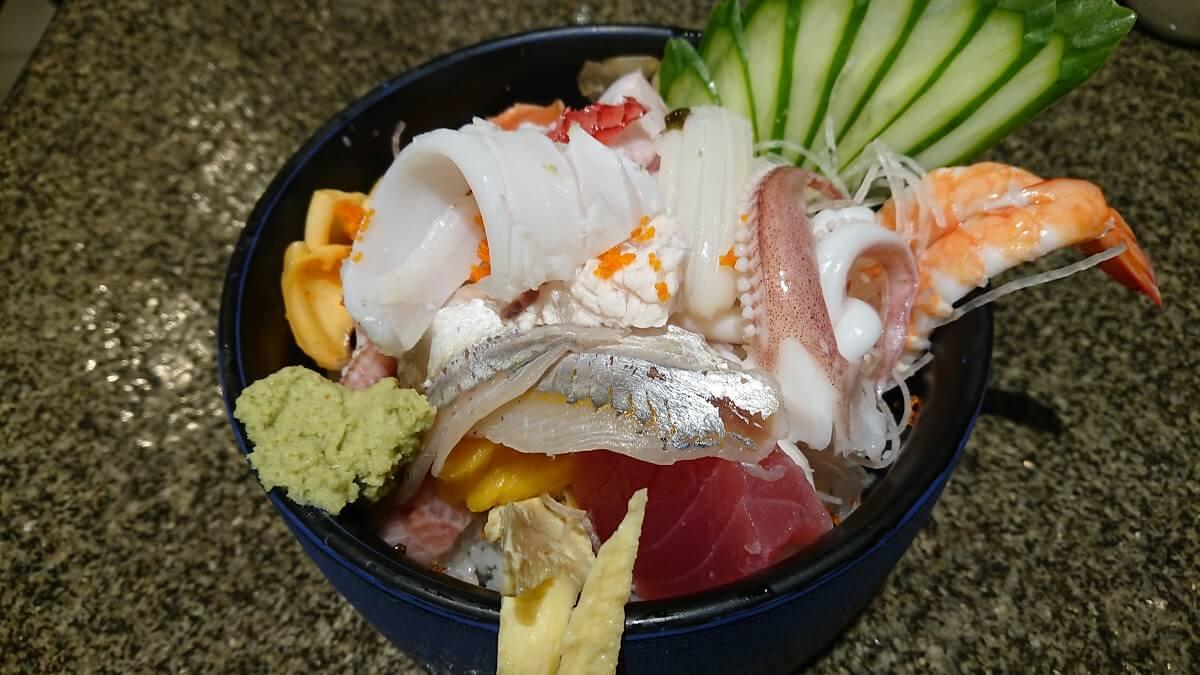 寶船散壽司