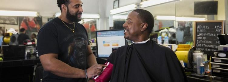 Barbershop trial