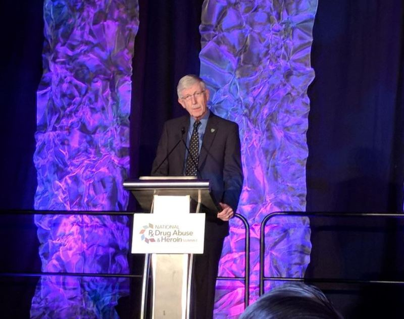 Francis Collins at National Rx Drug Abuse and Heroin Summit