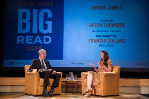 Francis Collins and Helen Thomson