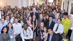 With the 2019 Class of Global Health Fellow