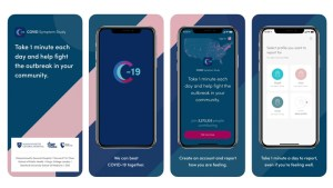 Zoe COVID Sympton Study Tracker app