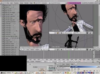 Blender production screen grab