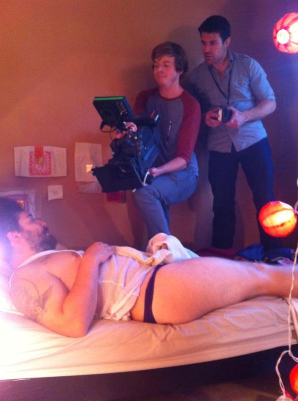 Old-Fashioned Girl bts02