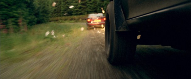 cerberus Car chase