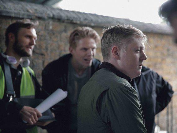 Director Rene Pannevis & actors Charley Palmer Rothwell & Thomas Turgoose