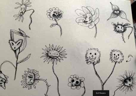 dear_john_bts_evil_flowers