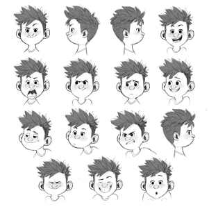 Koji expression sheet