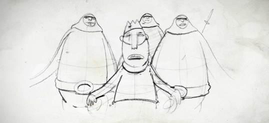 King character sketches