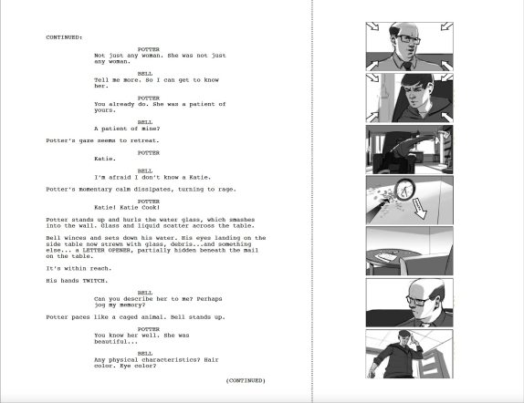 Script story page