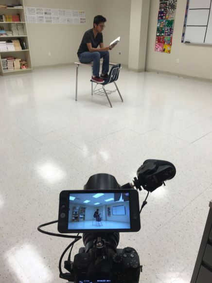 Filming at Dekalb Early College Academy