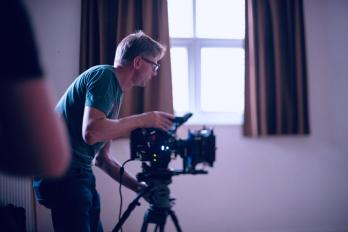 Cinematographer Alex Metcalfe