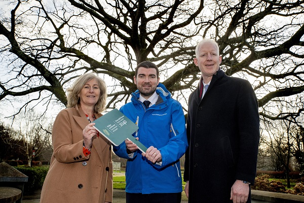 Pictured : Minister Brendan Griffin T.D , Josephine O'Driscoll Wild Atlantic Way team Manager and Fáilte Ireland's CEO Paul Kelly.Photo By Domnick Walsh © Eye Focus LTD
