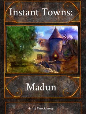 A Review of the Role Playing Game Supplement Instant Towns I: Madun