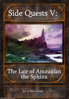 Side Quests V: The Lair of Amzuulan the Sphinx