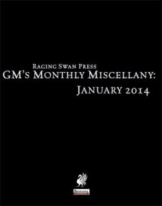 GM's Monthly Miscellany: January 2014
