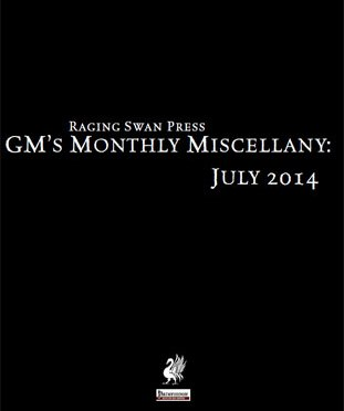 Free Role Playing Game Supplement Review: GM's Monthly Miscellany: July 2014