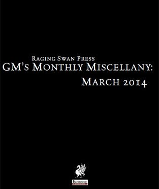 Free Roleplaying Game Supplement Review: GM's Monthly Miscellany: March 2014