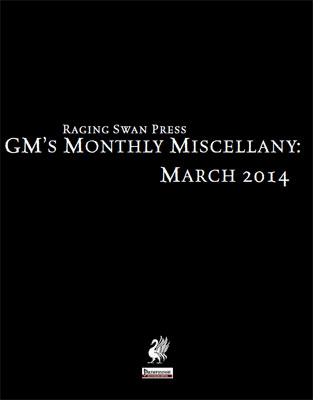 GM's Monthly Miscellany: March 2014