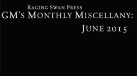 GM's Monthly Miscellany: June 2015