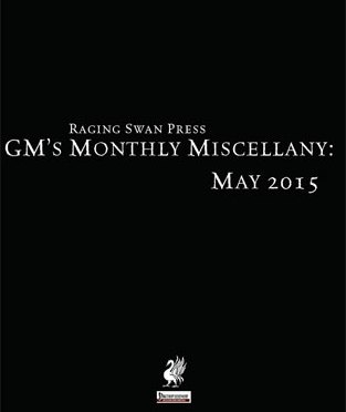 Free Role Playing Game Supplement Review: GM's Monthly Miscellany: May 2015