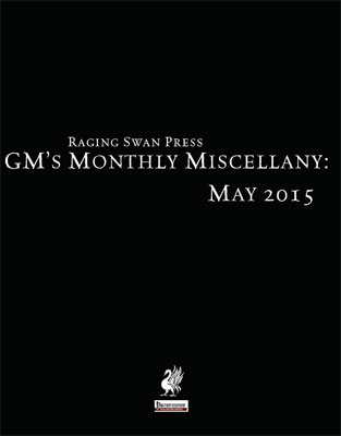 GM's Monthly Miscellany: May 2015