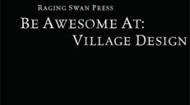 Be Awesome At Village Design