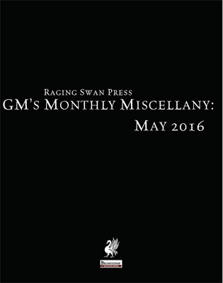 GM's Monthly Miscellany: May 2016