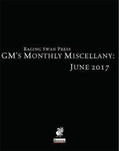 GM's Monthly Miscellany: June 2017