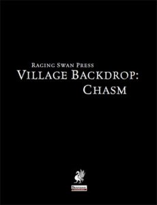 Village Backdrop: Chasm