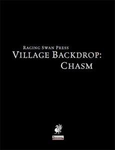Village Backdrop: Chasm