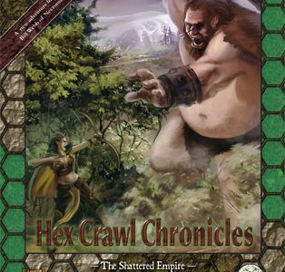 Hex Crawl Chronicles 4 The Shattered Empire - Pathfinder Edition