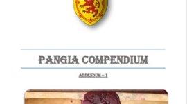 Pangia Compendium - Addendum 1