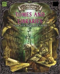 Encyclopaedia Arcane: Tomes & Libraries