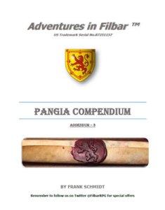 Pangia Compendium - Addendum 3