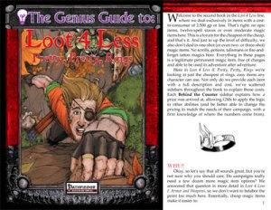 The Genius Guide to Loot 4 Less Vol. 2: Pretty, Pretty, Rings