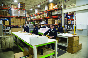 TLC's packaging and fulfillment