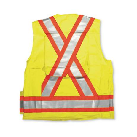 lime fire retardant surveyors vest