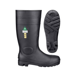 "PVC 15"" Steel Toe/Steel Plate Boot"