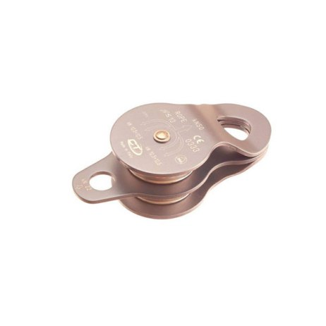 aluminum double pulley