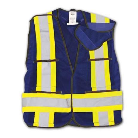 Bk101 Hi-Vis Mesh Safety Vest