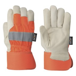 orange conwgrain fitters gloves
