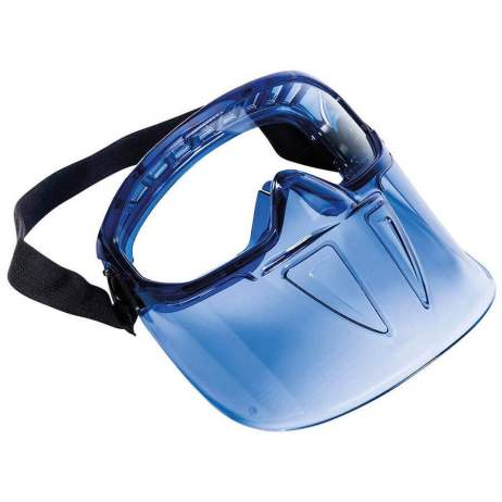 Googles with Detachable Face Shield