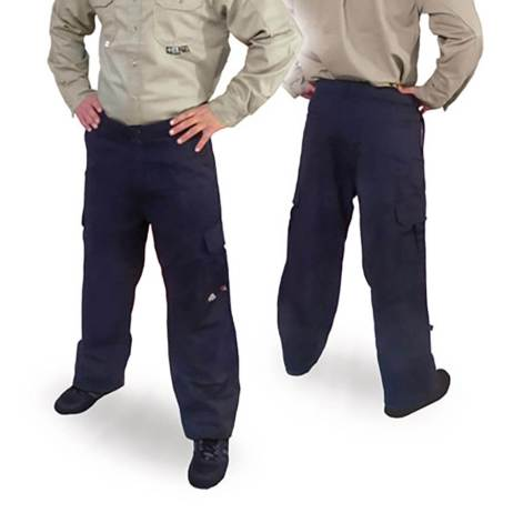 navy flame resistant pants