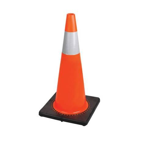 orange traffic safety cone