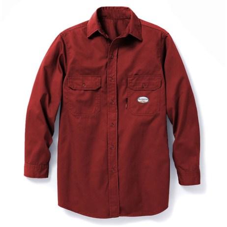 Red FR Work Shirt