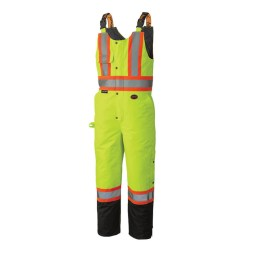 hi-viz insulated waterproof bib overall pants