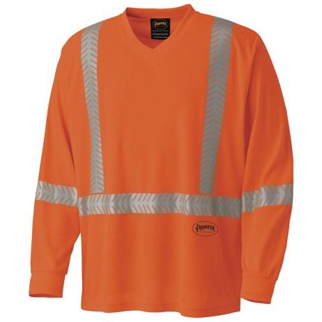 Orange Mesh Safety Shirt