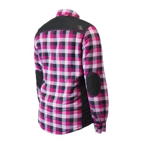 rear view padded shirt