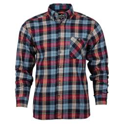 blue plaid work shirt